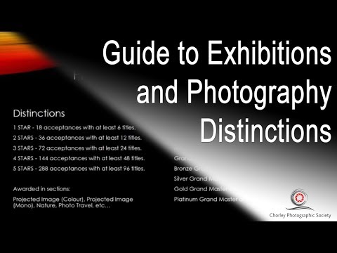 Guide to entering Exhibitions and Photography Distinctions