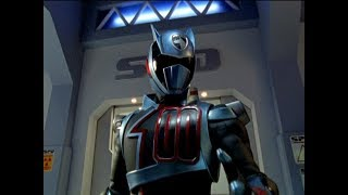 "Power Rangers S.P.D. - Evil Blue Ranger vs Shadow Ranger | Episode 17 ""Recognition"""