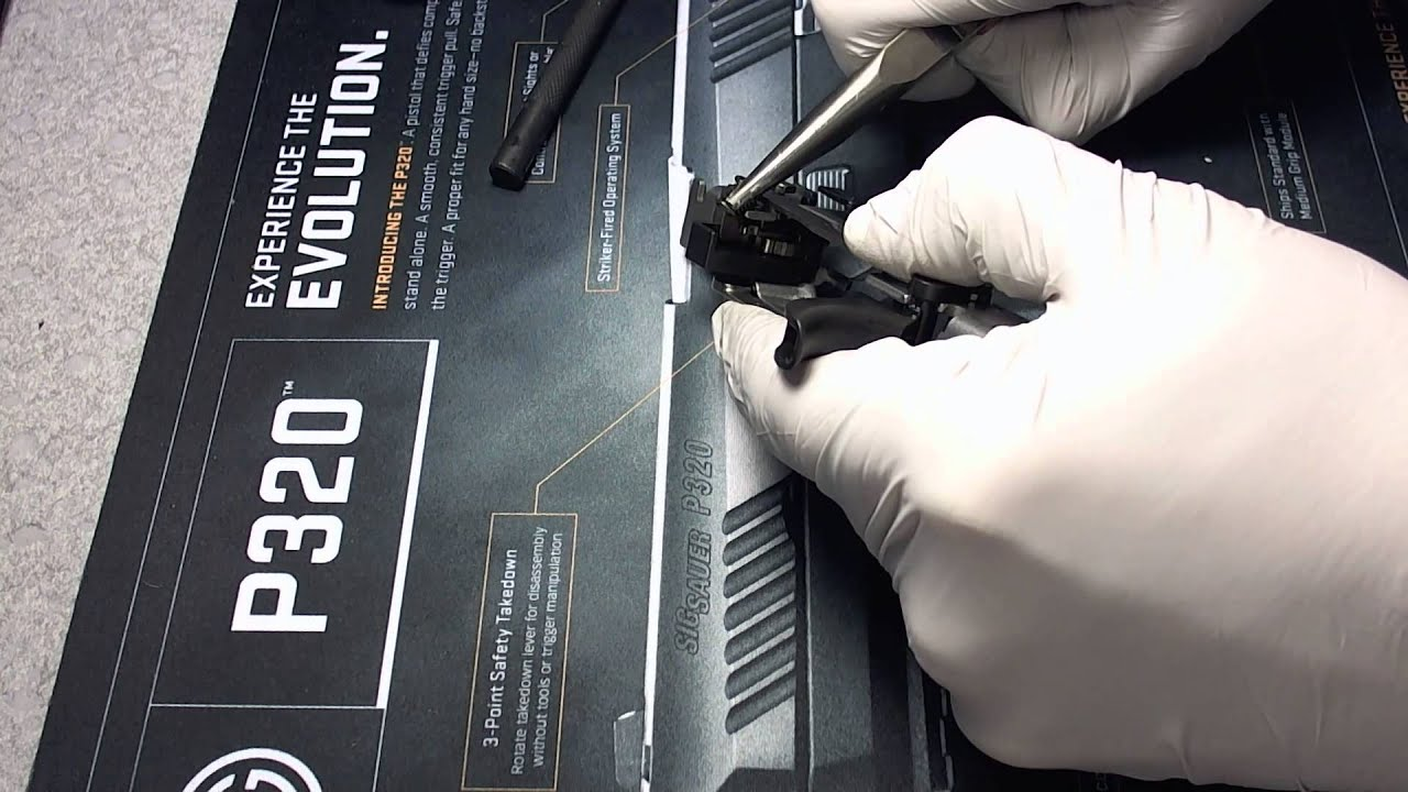 SIG Sauer P320 FCU/Lower Disassembly
