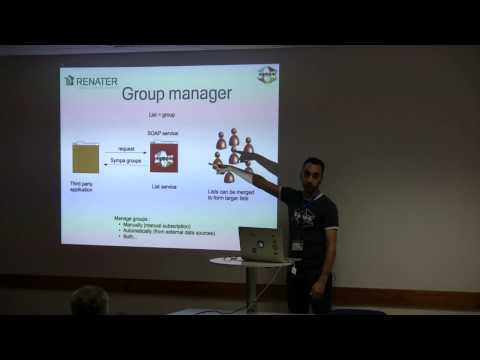 Sympa : a mailing lists manager and more - David Verdin