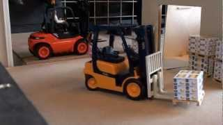 "RC trucks Utrecht Part 2  ""RC forklift and EUROBraam Rids again"""