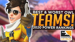 BEST & WORST Overwatch League Teams! - #OWL2020 Season 3 Power Rankings