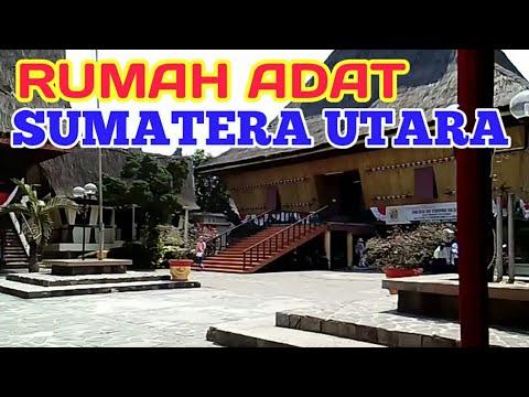 Rumah Bolon Rumah Adat Sumatera Utara North Sumatra Traditional House Youtube