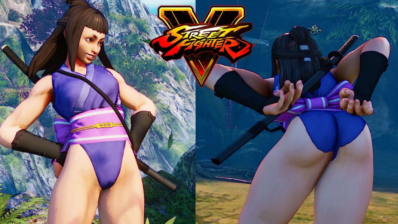 Naked ninka ibuki street fighter mod