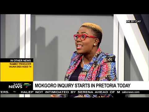Mokgoro enquiry starts in Pretoria today