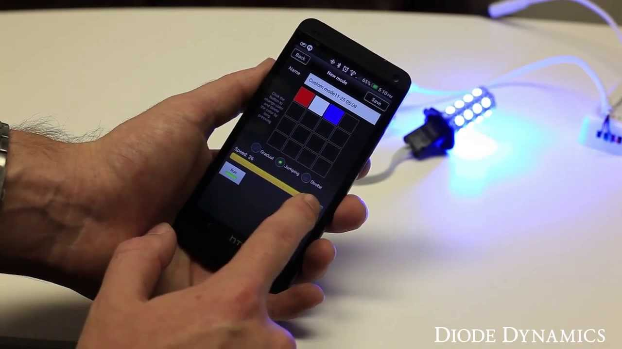 Diode Dynamics Wifi Rgb Led Controller Setup And Demo Youtube Colour Connection Diagram