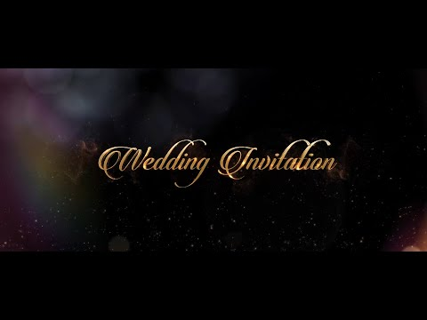 best_classy_musical_wedding_invitation_video____save_the_date_video___barshi_vfx