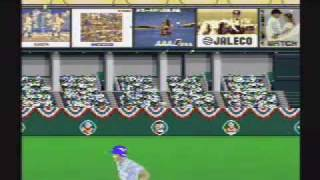 Super Bases Loaded - SNES Gameplay