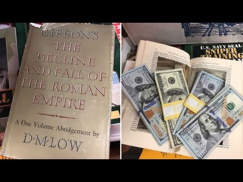 This Woman Finds $4K Inside Hollowed Out Book, Then Stuns Family With Her Decision