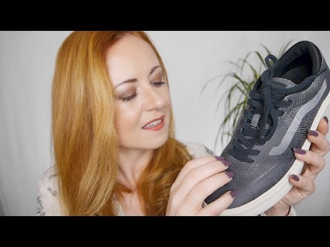 ASMR Shoes 👟QUASI Signature VANS | Sole Tapping, Fabric Scratching👟