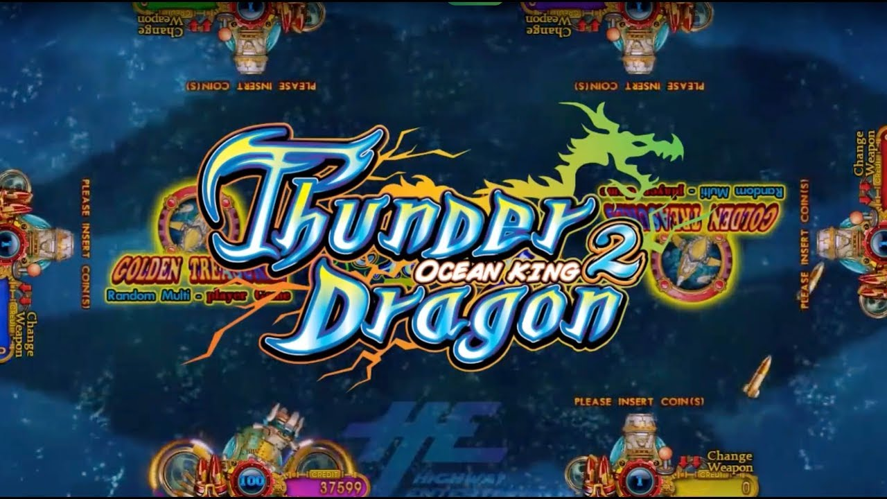 Thunder Dragon Gambling Video Game Console Fishing Hunter Games