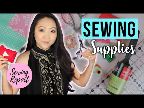 What Basic Sewing Supplies Do You Need? 🧵 Learn To Sew In 2020 | SEWING REPORT