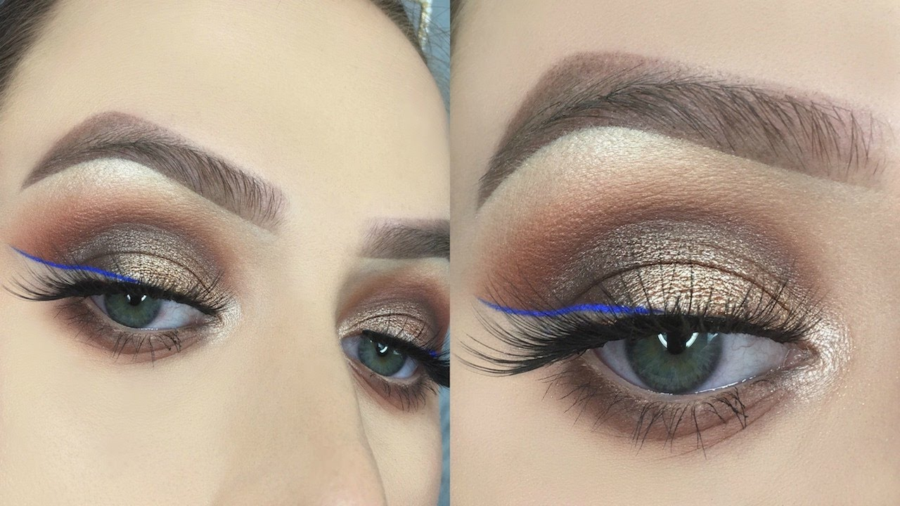 how to draw an eye makeup wing