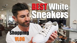 Sneaker Shopping to Find the BEST White Sneakers! (VLOG)