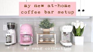 At Home Coffee Bar Tour | Smeg…