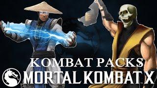 Mortal Kombat X (iOS) KOMBAT PACK OPENING Lets play Gameplay Walkthrough part 1