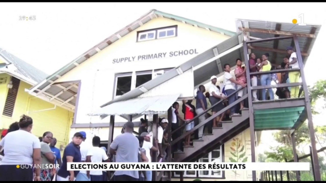 Elections Au Guyana L Attente Des Resultats Youtube