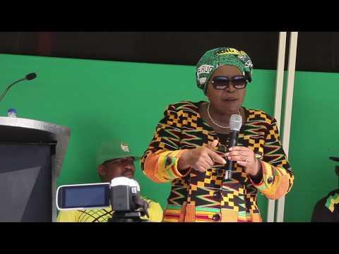 Dr Nkosazana Dlamini Zuma Mini-Rally Alexandra, Johannesburg
