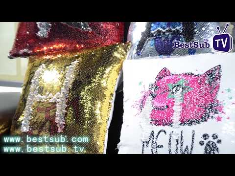 Sublimation Flip Sequin Pillow Covers