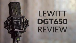 Lewitt DGT 650 Review (USB Microphone)