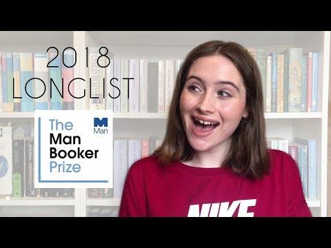 Man Booker Prize 2018 Longlist!