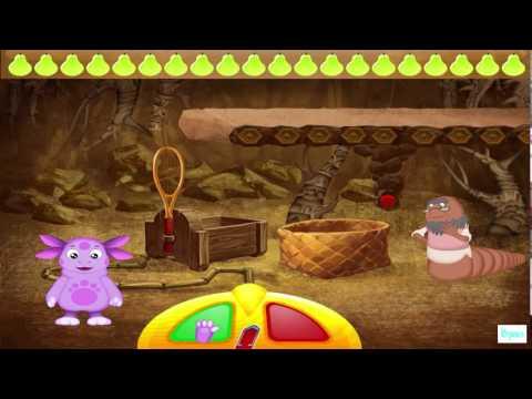 Лунтик ИГРА видео развивающие для детей Прохождение 2015 года Серия 10