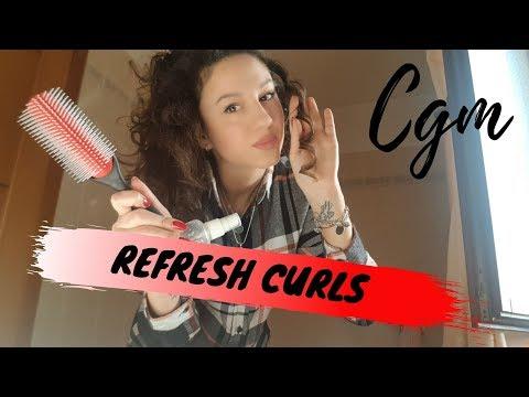 CAPELLI RICCI - Come faccio il refresh nel Curly Girl Method (CGM) - Aggiornamento