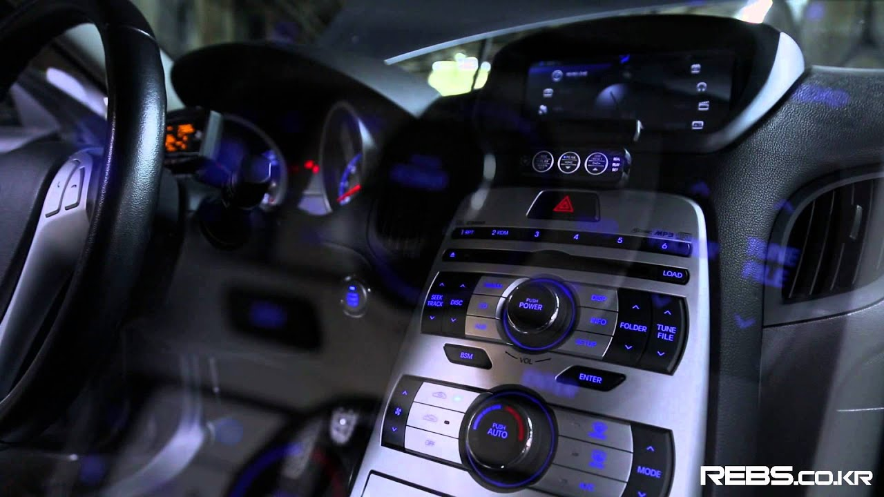 Genesis Coupe On Corvette Ls1 5700cc Engine Swap Tunning