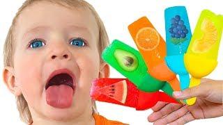 Мороженое и другие детские песни | Песни для детей от Кати и Димы