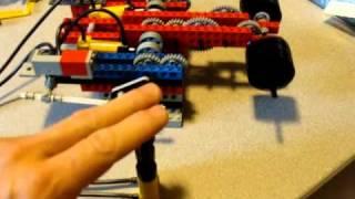 Lego pneumatic motor