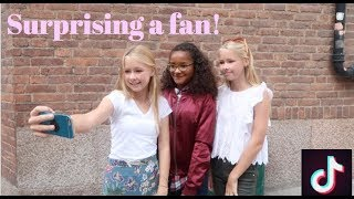 Surprising a fan! - izaandelle