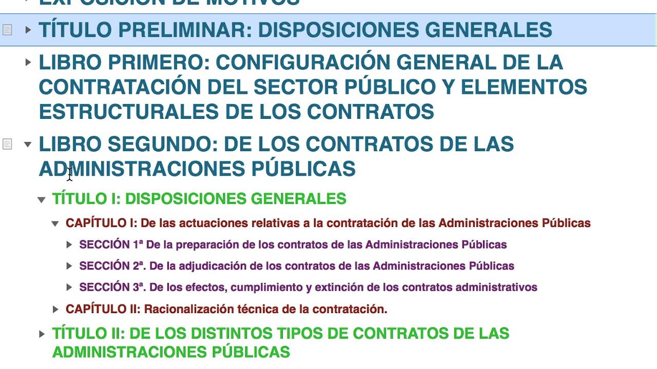 test contratos sector publico pdf