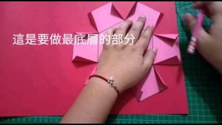 Ruth愛分享-【卡片教學】六角禮物盒(盒子教學,爆炸卡)