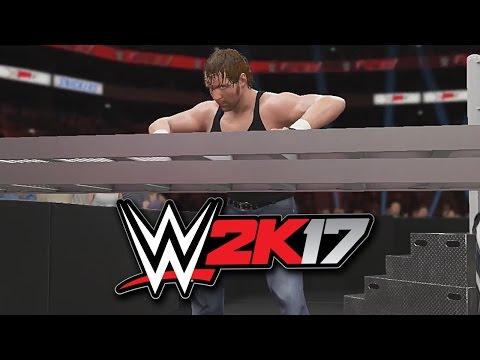 WWE 2K17 LADDER MATCH GAMEPLAY!!