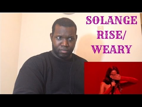 Solange-Rise/Weary ( Live on Jimmy Kimmel) Reaction