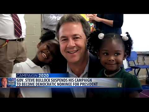 Bullock Ends Presidential Campaign