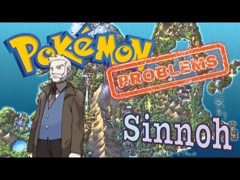 Top 6 Pokemon Problems with the Sinnoh Region