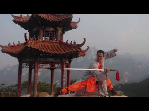 Shaolin Master - Kunyu moutanin shaolin martial arts academy China