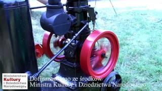 """Silnik """"Machow"""" w zbiorach Muzeum Rolnictwa w Ciechanowcu"""