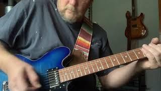 srv style backing track guitar solo improvisation.