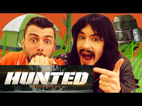 Irish People Watch New American TV Series 'HUNTED'