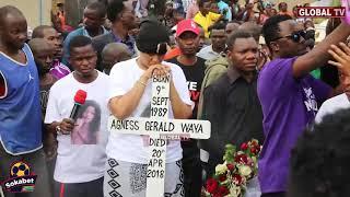 MWANZO MWISHO: Mazishi ya Masogange, Mwanae Atakutoa Machozi