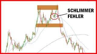 Dieser Forex Trading Fehler wird dich mehrere 1000€ kosten! (Strategie Deutsch für Anfänger)