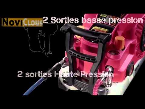 NOVICLOUS - Vidéo COMPRESSEUR MAX HAUTE PRESSION AKHL 1250E