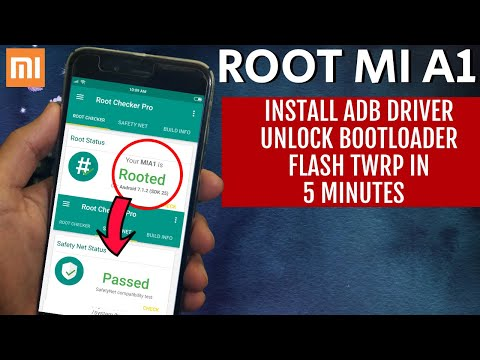 how-to-root-xiaomi-mi-a1/flash-permanent-twrp-recovery-install-adb-driver-&-unlock-bootloader