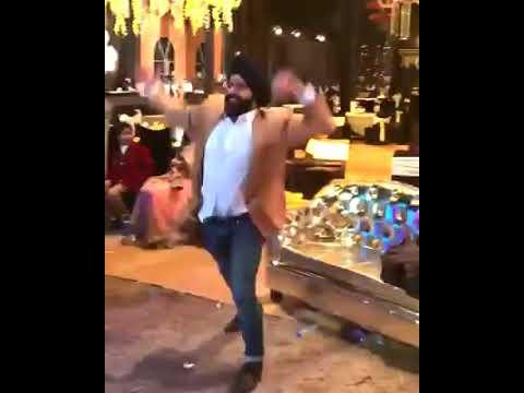 Punjabi guy enjoying the song 'tera yaar bolda'