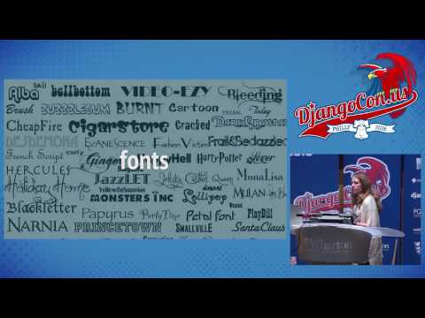 DjangoCon US 2016 - Design for Non-Designers by Tracy Osborn