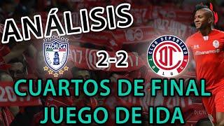 COPA MX ANÁLISIS POST PARTIDO PACHUCA 2-2 TOLUCA FC   EL CENTRO DELANTERO ESTÁ DEFINIDO