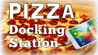 Diy Charging Holder For Your Smartphone (using A Pizza Box) - *upcycling*