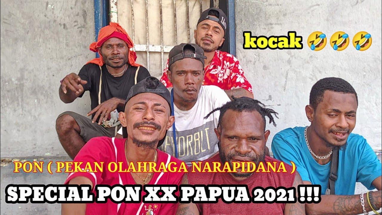 PRISON KOMEDI - SPECIAL PON XX PAPUA 2021 !!! KOCAK 🤣